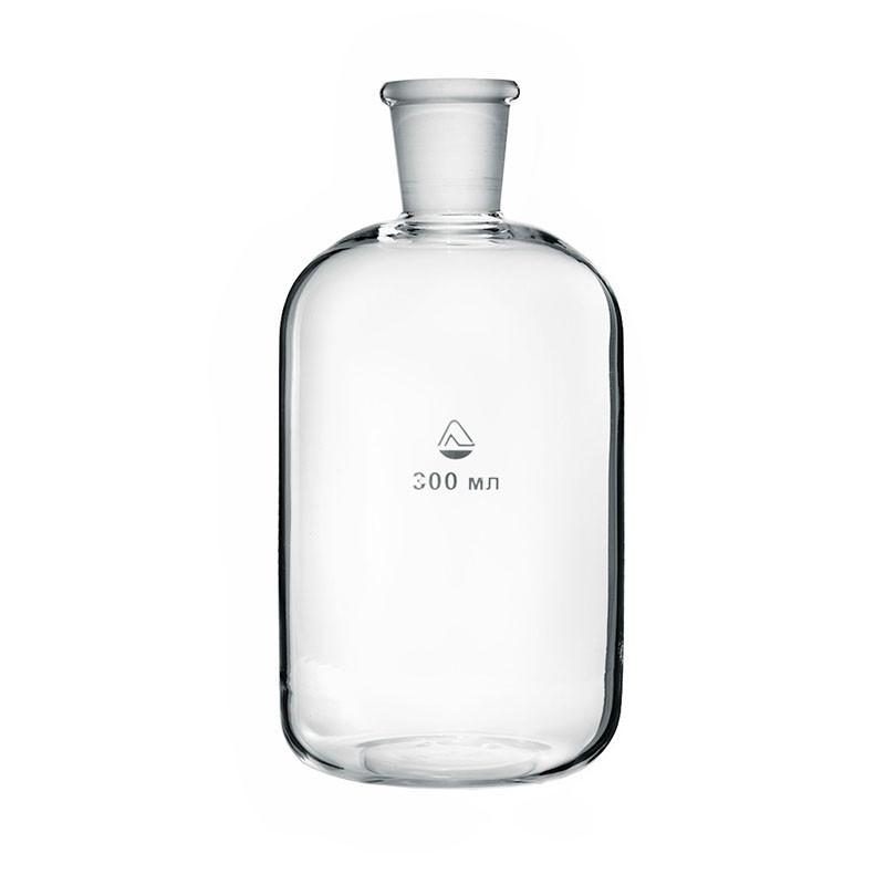 Склянка для приборов дозирования жидкости со шлифом 300 мл, стекло