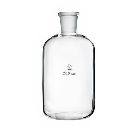 Склянка для приборов дозирования жидкости со шлифом 300 мл, стекло, фото 2