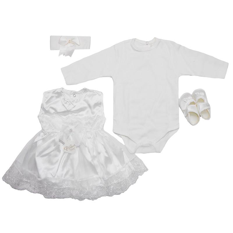 11f1afe859a5 Костюм для крещения девочки 56-62 , 5 предметов, арт 134   продажа ...