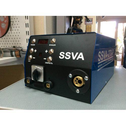 Сварочный инверторный полуавтомат SSVA-270-P (380В) без горелки