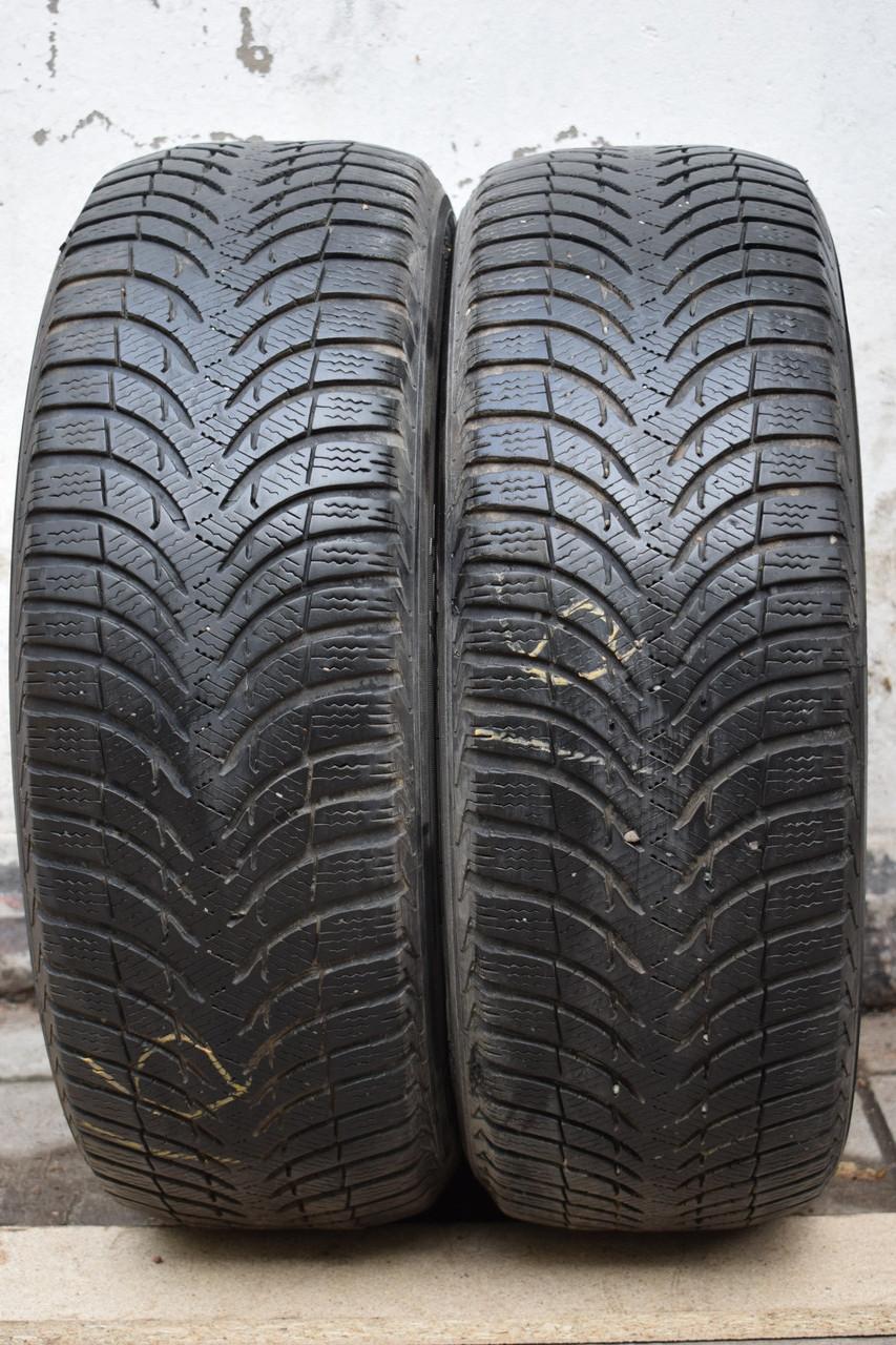 Шины б/у 205/55 R16 Michelin ЗИМА, пара