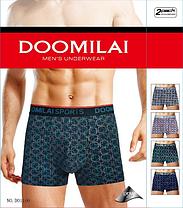Мужские  стрейчевые боксеры Марка  «DOOMILAI» Арт.D-01160, фото 2