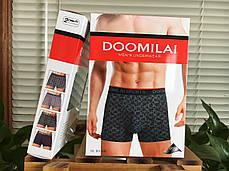 Мужские  стрейчевые боксеры Марка  «DOOMILAI» Арт.D-01160, фото 3