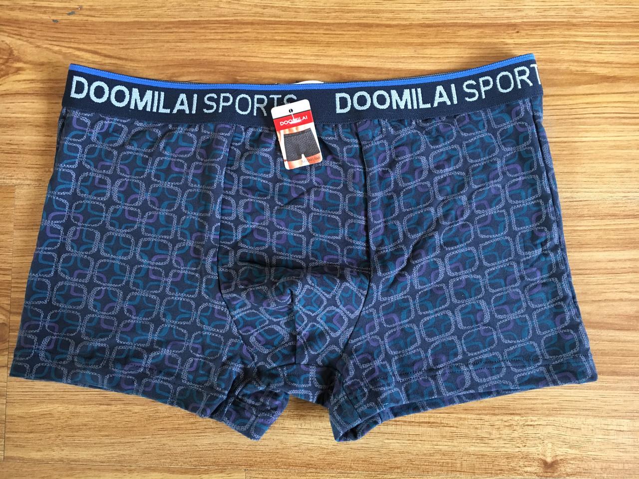 Мужские  стрейчевые боксеры Марка  «DOOMILAI» Арт.D-01160