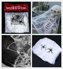 Паутина с пауками - декор на хэллоуин Halloween