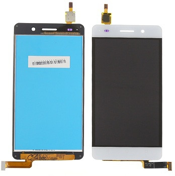 Дисплей для Huawei Honor 4C (CHM-U01)/G Play mini с тачскрином белый Оригинал