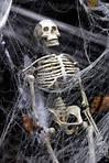 Паутина с пауками - декор на хэллоуин Halloween, фото 2