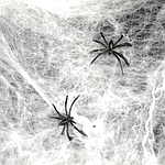 Паутина с пауками - декор на хэллоуин Halloween, фото 4