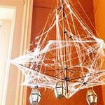 Паутина с пауками - декор на хэллоуин Halloween, фото 6
