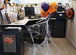 Паутина с пауками - декор на хэллоуин Halloween, фото 8
