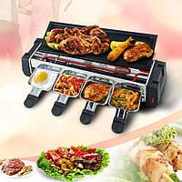 Электрический Гриль Барбекю BBQ Electric and Barbecue Grill HY9099А Домашний Электрогриль