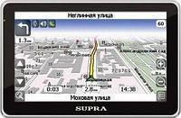 GPS-навигатор Supra SNP-502 (Навител)