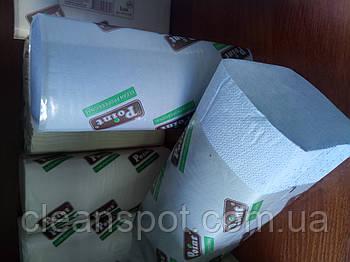 Бумажные полотенца V голубые 2 сл 160л/уп