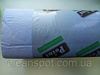 Бумажные полотенца V голубые 2 сл 160л/уп, фото 2