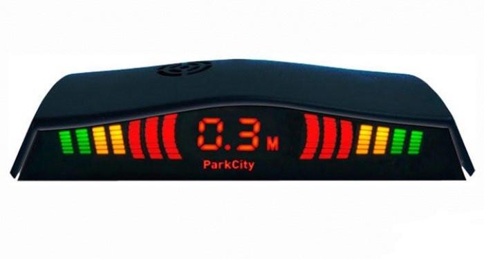 Парктроник ParkCity Madrid 418/113 черный - GUARAND | Интернет-магазин Автоэлектроники в Харькове