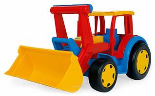 Трактор гігант з ковшем