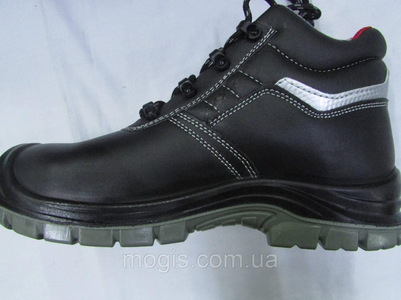 Ботинки из гладкой кожи с композитным подноском (для подразделений МЧС)