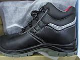Ботинки из гладкой кожи с композитным подноском (для подразделений МЧС) , фото 3