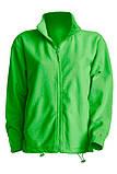 Мужская флисовая куртка  зеленого цвета , фото 3