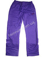 Фиолетовые трикотажные спортивные штаны для девочек 86см, Венгрия