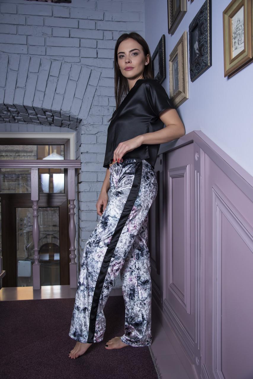 Серая шелковая пижама оптом в Украине. Сравнить цены 52d7ba471b25d