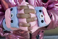 Детская перчатка-митенка, фото 3