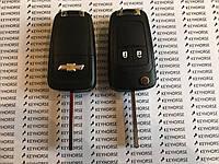 Выкидной ключ для Chevrolet Cruze, Orlando (Шевролет Круз,Орландо) 2-кнопки 433 MHZ чип ID 46