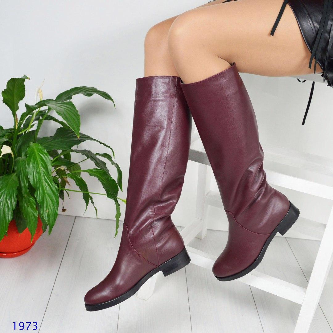 185192a77e95 Сапоги - трубы женские зима, цвет- марсала - Интернет магазин Family  Fashion Оптом и
