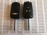 Выкидной ключ для Chevrolet (Шевролет) Cruze 3-кнопки 433 MHZ чип ID 46