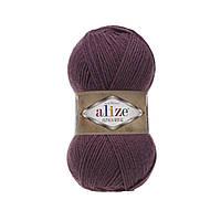 Пряжа  Alize Alpaca RoyaL 169 гнилая вишня (Альпака Роял)