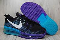 Распродажа. Женские и подростковые кроссовки Nike Air Max Flyknit найк,  сетка, осень 2018 1e672bc8dae