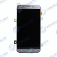 Дисплей Samsung J4 2018 J400 Серый Lavenda GH97-21915C оригинал!