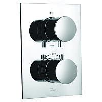 Смеситель-термостат для ванны и душа встроенный Jaquar Florentine на 3 положения