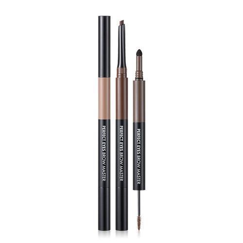Tony Moly Карандаш 3 в 1 для макияжа бровей Perfect Eyes Brow Master 0.2g+0.3g+1.6g