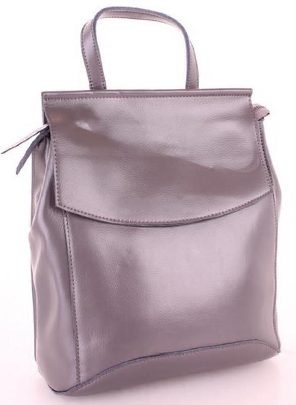 Женский кожаный рюкзак 10136 D.Grey кожаные женские рюкзаки недорого купить  - Интернет магазин