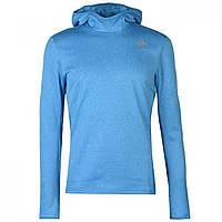 Лонгслив Adidas Response Astro Hoodie Bright Blue - Оригинал