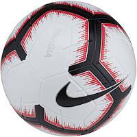 Мяч футбольный Nike Magia FIFA SC3321-100 бело-черно-красный, размер 5