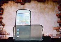 Чехол бампер для Samsung i8552 i8550 i8558 серый