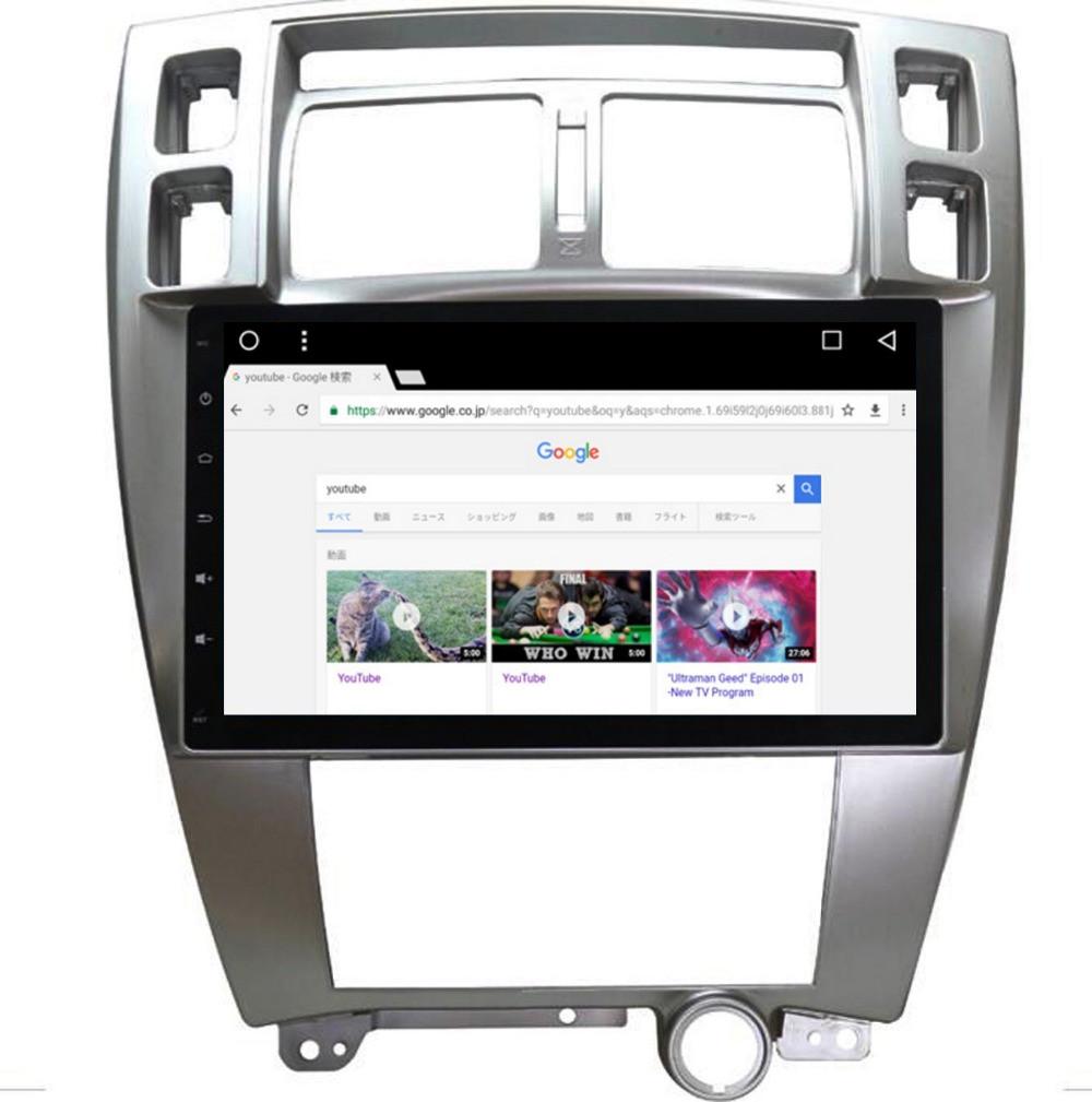 Магнитола Hyundai Tucson 2006-2014 Штатная Хюндай Андроид 6 экран 10.2