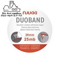 Лента для пленок и мембран Ruukki DUOBAND (20мм x 25м), Киев