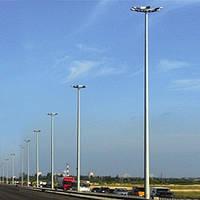 Стальные осветительные мачты CPML/CPMH-200 высота 20м