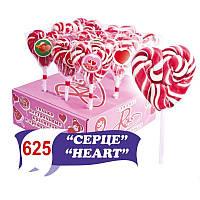 """""""Серце"""" (82,5 г) вите, смаки: вишня, малина, полуниця, дисплей """"Універсал"""""""