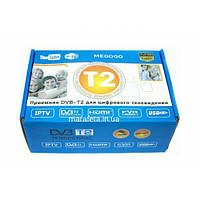T2 тюнер для цифрового ТВ (Wi-Fi, YouTube, IPTV, 1080p), фото 1