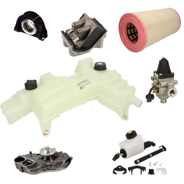 Підвіска двигуна, трансмісії. Деталі системи вихлопу, охолодження, сцеплення.