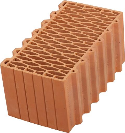 Блоки керамические Porotherm