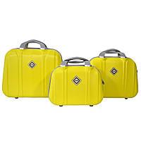 Сумка кейс саквояж 3в1 Bonro Smile желтый (yellow 613)