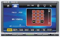 2-DIN DVD Монитор Prology DVS-2135 Green