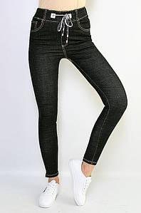 Джинсы женские черные Fashion 3-25