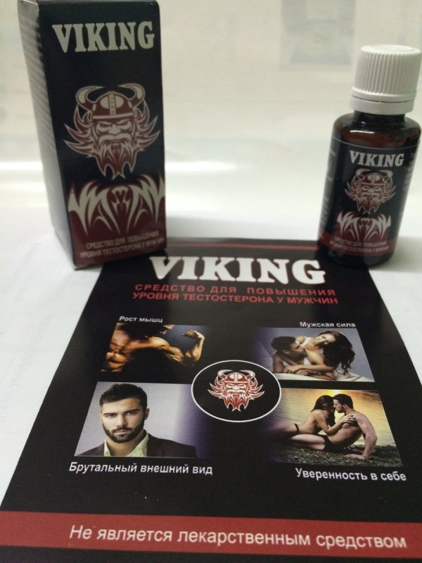 VIKING - Средство для повышения уровня тестостерона у мужчин (Викинг)