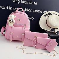 Рюкзак+сумочка+клатч+визитница 4-в-1 0737/3 (ДМ), фото 1